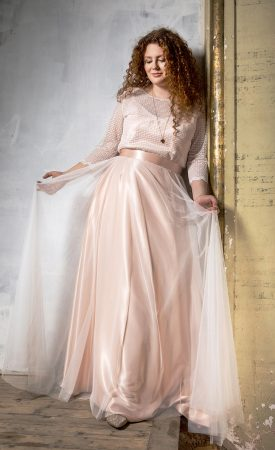 2-teiliges Brautkleid